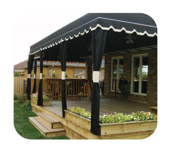canopies by accurate awning